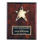 Star Plaque Employee Awards