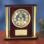 Large Clock with Exposed Gears Sales Awards