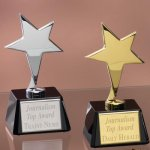 Small Stars with Glass Bases Sales Awards