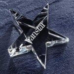 Optic Star Paper Weight Secretary Gift Awards